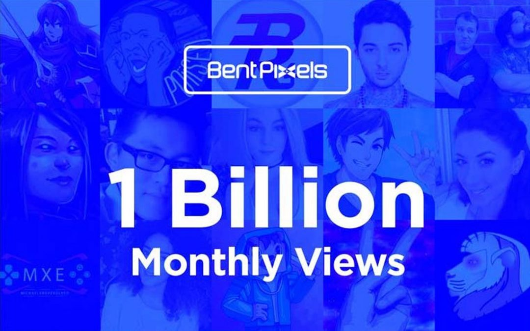 Bent Pixels Video Creators Amass One Billion YouTube Views Monthly